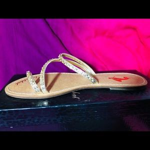 Baby Phat Leonor Gold Sandals